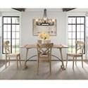 Elements Callista Folding Top 5-Piece Dining Set - Item Number: LCL100FT5PC