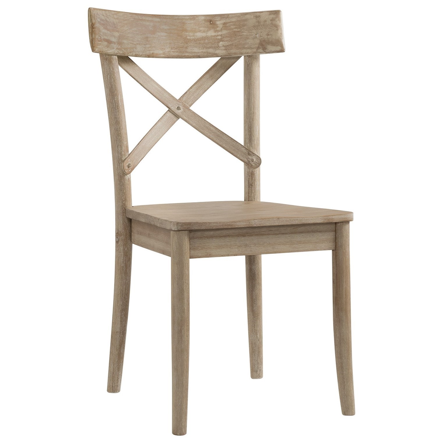 X-Back Wooden Side Chair