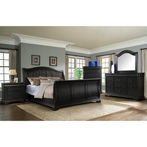 Elements International Cameron Queen Bedroom Group