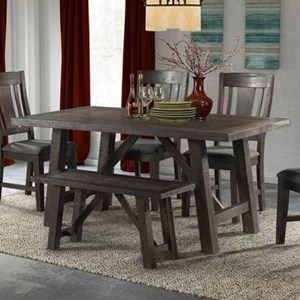 Elements International Caitlin Dining Table