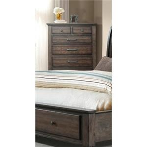 Elements International Chatham Gray Chest