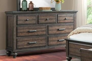 Elements International Chatham Gray Dresser - Item Number: CH600DR