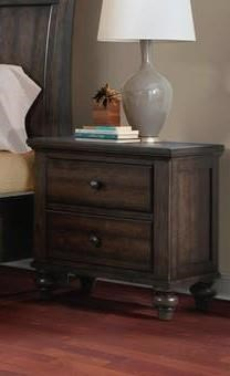 Elements International Chatham Gray Nightstand - Item Number: CH600NS