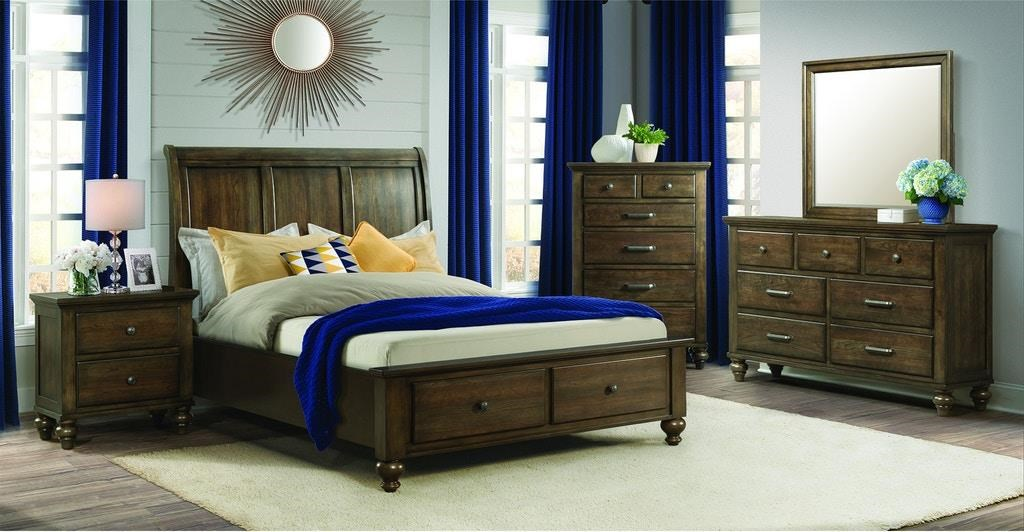 King Gray Bedroom Group