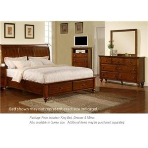 Elements International Chatham 3PC King Bedroom
