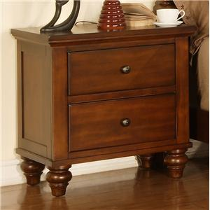 Elements International Cambridge Nightstand