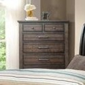 Elements International Chatham Gray Drawer Chest - Item Number: CH600CH
