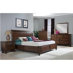 Elements International Chatham Queen 6-Piece Bedroom Group