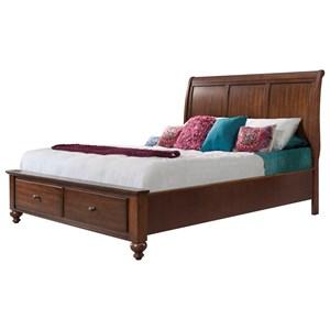VFM Basics-eee Chatham Queen Sleigh Bed