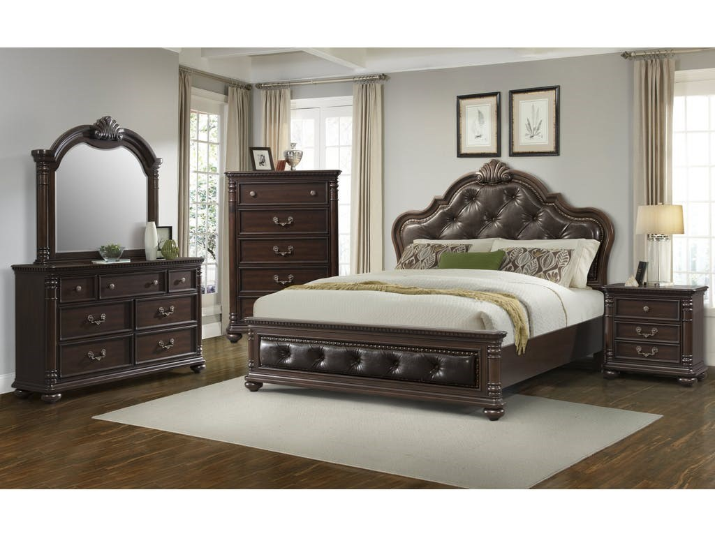 Elements International Classic Queen Bedroom Group - Item Number: CL600 Q Bedroom Group 1