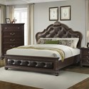 Elements International Classic King Bed - Item Number: CL600KB