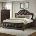 Elements International Classic Queen Bed - Item Number: CL600QB