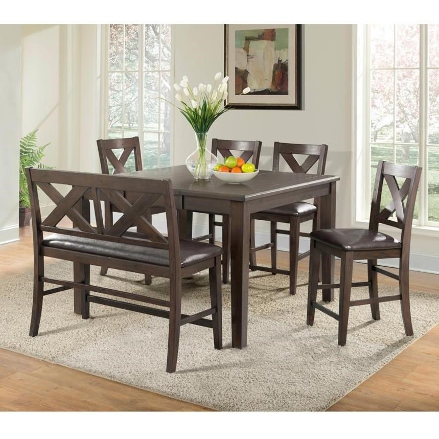 Gumbo Counter Height Table and Chair Set by EFO at EFO Furniture Outlet