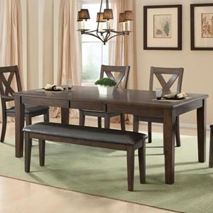 Elements International Cooper Ridge Dining Table
