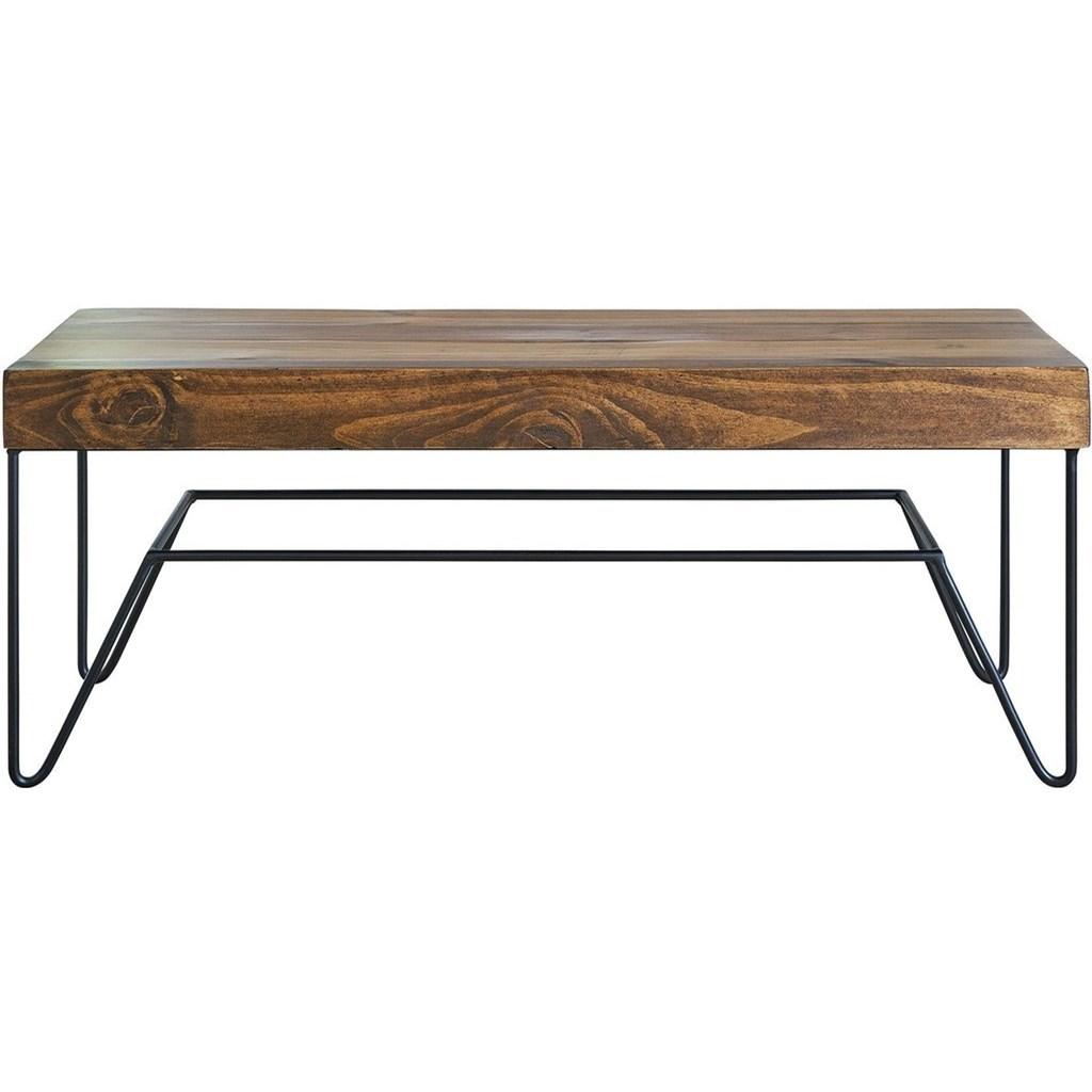 Cruz Bench by Elements International at Becker Furniture