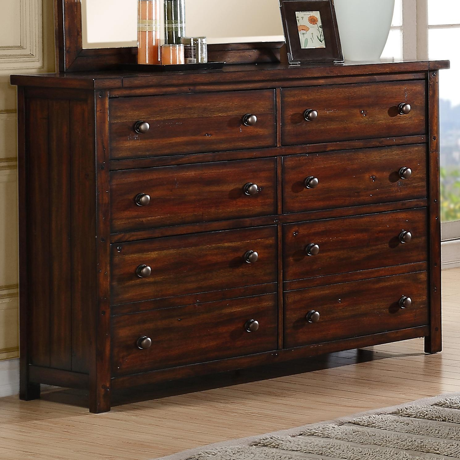 Elements International Boardwalk Dresser - Item Number: DS600DR