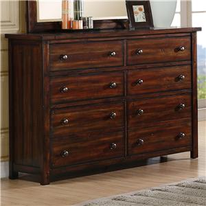 Elements International Boardwalk Dresser