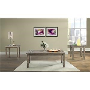 Elements International Finn 3 Pack Occasional Tables