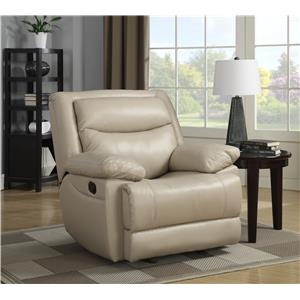 Elements International Diane Casual Recliner