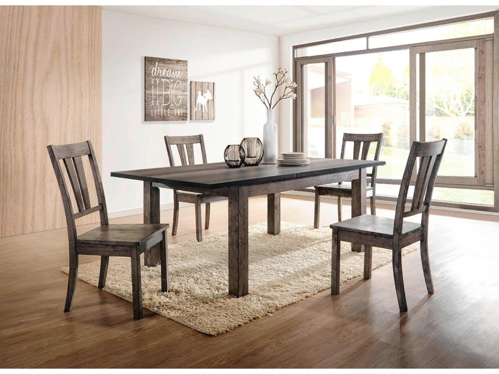Table & 6 Side Chair Set