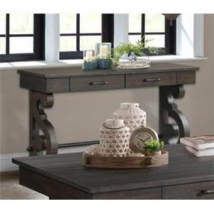 Elements International Stone Sofa Table