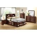 Elements International Emily King Bedroom Group - Item Number: EM K Bedroom Group