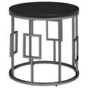 Elements International Ester Round End Table - Item Number: CES100ETE