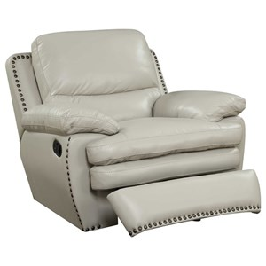 Elements International Glasgow Upholstery Power Recliner