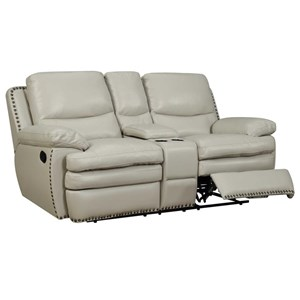 Elements International Glasgow Upholstery Power Reclining Loveseat