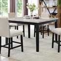 Elements International Greystone Counter Height Table - Item Number: DGS100CDTB