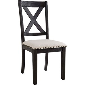 Elements International Greystone Side Chair