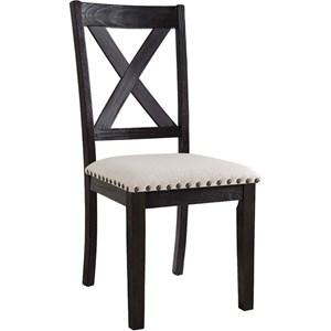 Elements International Greystone Side Chair