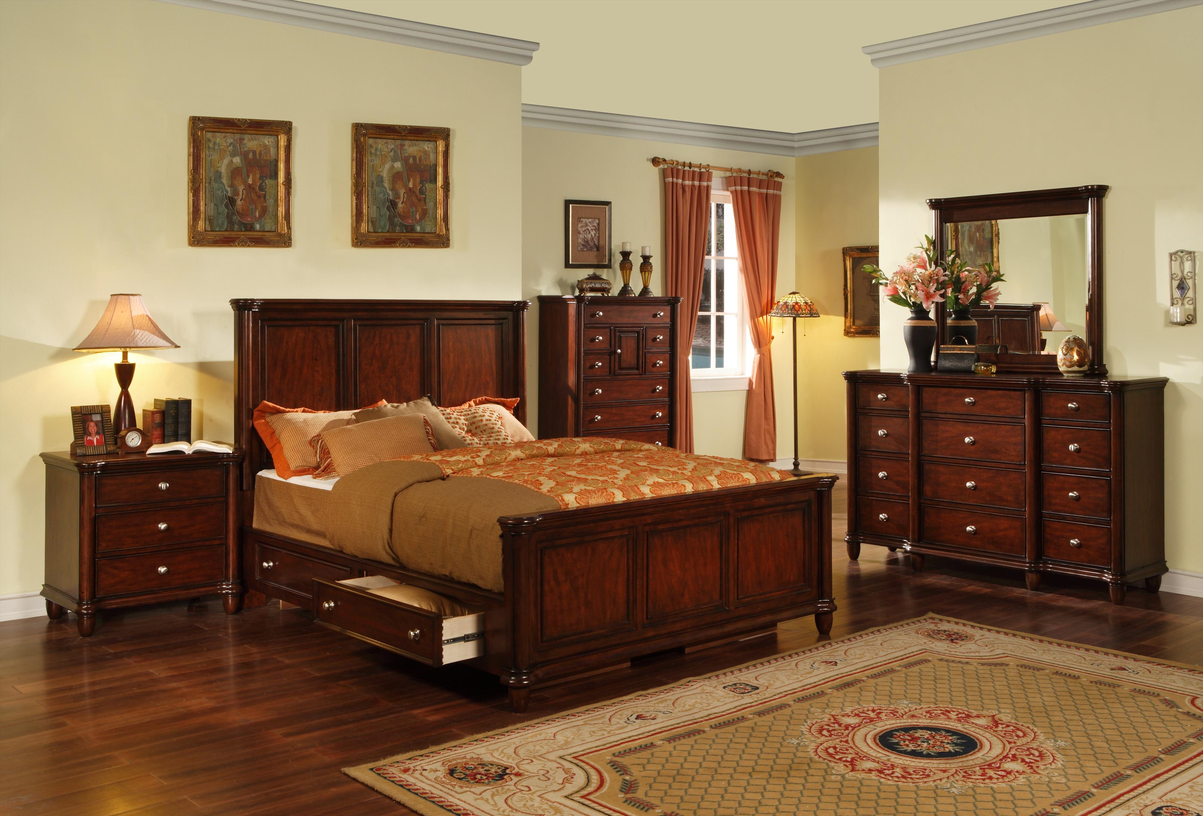 74+ King Bedroom Set With Storage Headboard Best