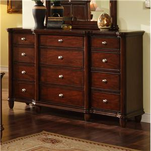 Elements International Hamilton Dresser
