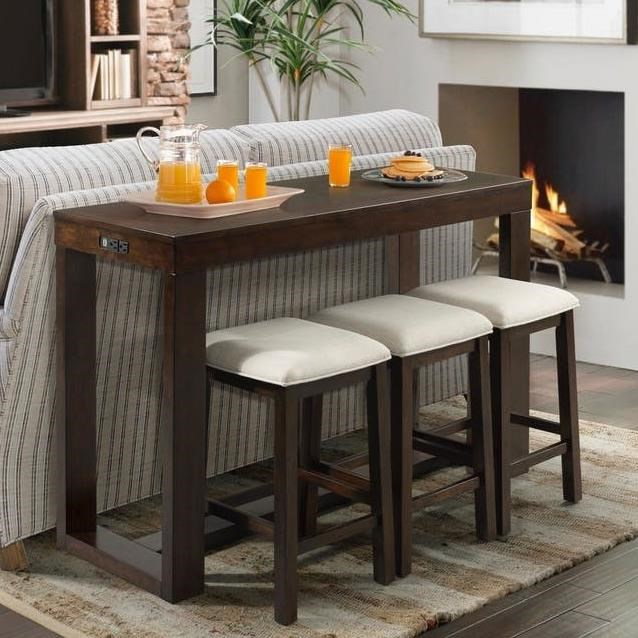 Counter Height Bar Table Set