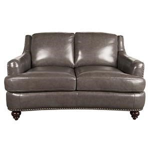 Morris Home Furnishings Harlow Harlow Leather-Match* Loveseat