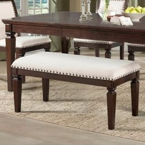 Elements International Harwich Dining Bench