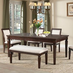 Elements International Harwich Dining Table