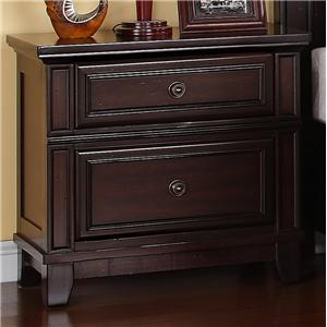 Elements International Harwich Nightstand