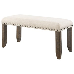 Elements International Jax Dining Bench