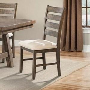 Elements International Jax Dining Side Chair