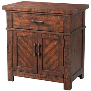Elements International Jax Nightstand