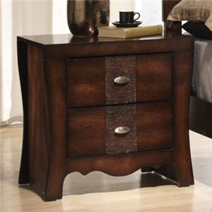 Elements International Jenny Night Stand