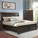 Elements International Kingston King Bed - Item Number: KT600KB