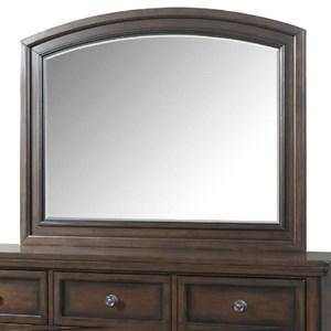 Elements International Kingston Mirror with Wood Frame