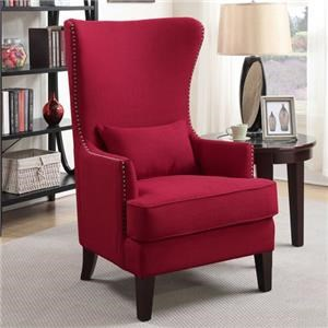 Elements Kori Wing Back Accent Chair