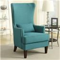 Elements Kori Wing Back Accent Chair - Item Number: 724TEAL