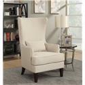 Elements International Kori Upholstered Chair - Item Number: UKR NATURAL