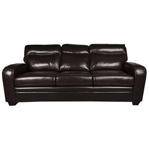 Morris Home Furnishings Landry Landry Leather-Match* Sofa
