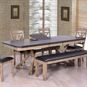 Elements International Laramie Dining Table